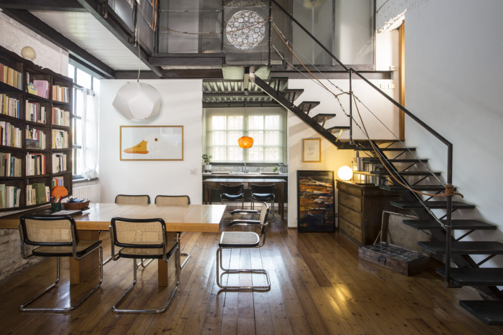 Casa atelier, Alessandro Busci