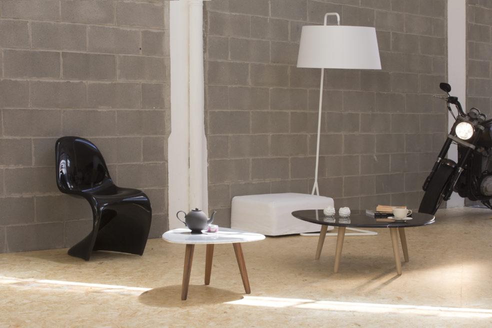 Tavolini Fiume- MrSmith Studio per Monitillo Marmi
