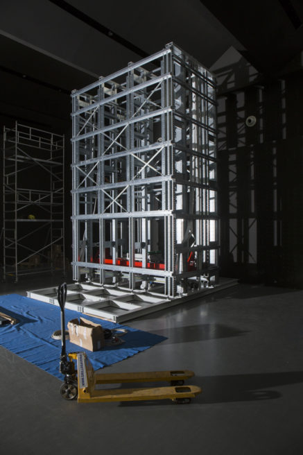 ICAM-INSTALLAZIONE VENDING MACHINE PRESSO TRIENNALE DESIGN MUSEUM